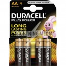 Batteries AA x 4 Duracell